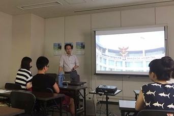 2017.07.09 天王寺区 夢・みらい教室にて職業講話を行いました。